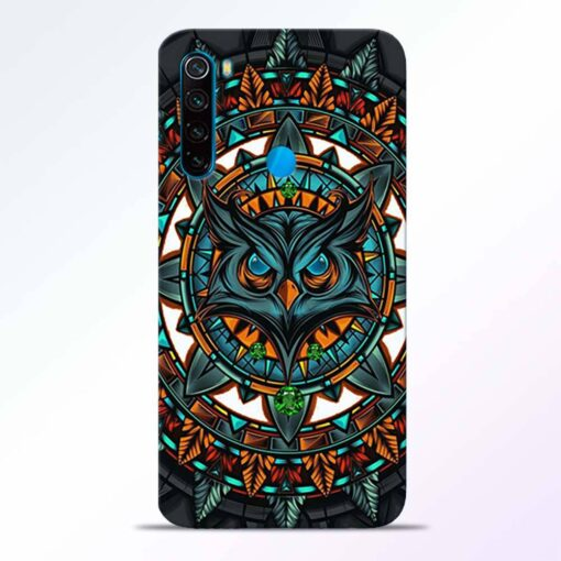 Angry Owl Redmi Note 8 Back Cover