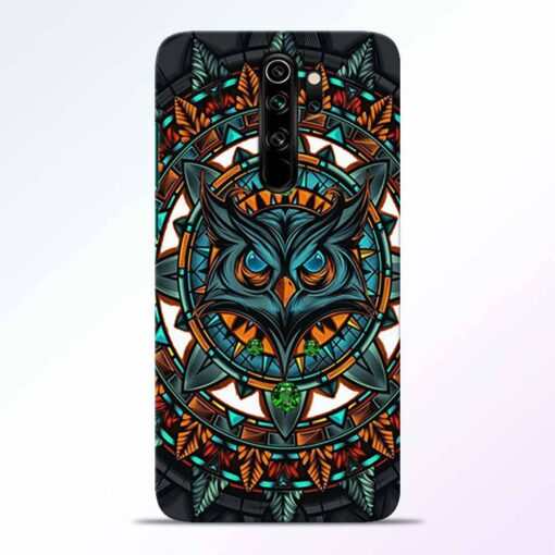 Angry Owl Redmi Note 8 Pro Back Cover