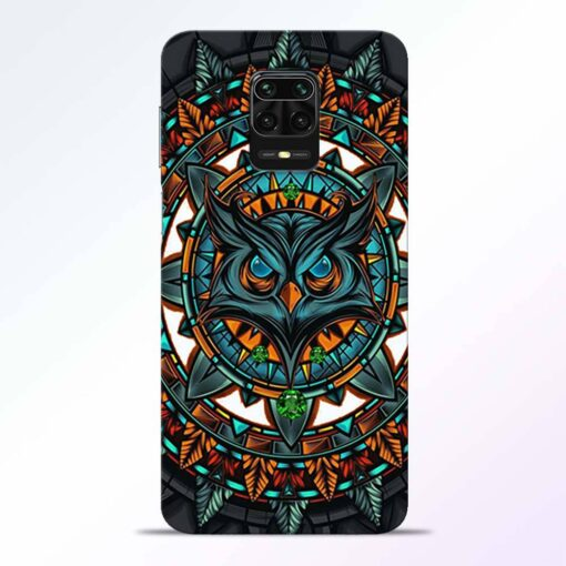 Angry Owl Redmi Note 9 Pro Back Cover