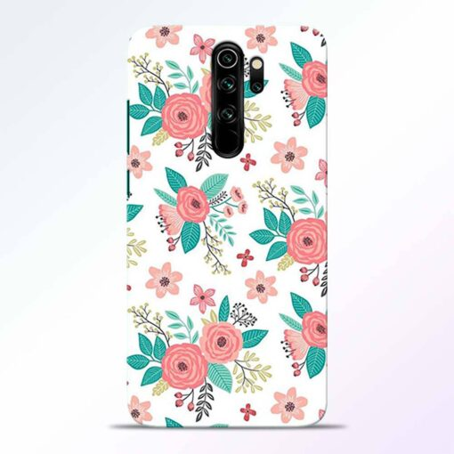 Antique Floral Redmi Note 8 Pro Back Cover