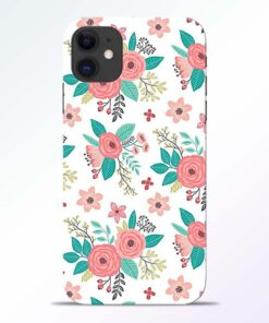 Antique Floral iPhone 11 Back Cover