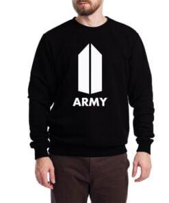 Army Sweatshirt for Men