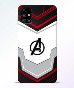 Avenger Endgame Samsung Galaxy M31s Mobile Cover - CoversGap