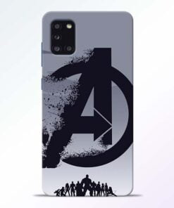 Avengers Team Samsung Galaxy A31 Mobile Cover - CoversGap