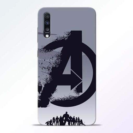 Avengers Team Samsung Galaxy A70 Mobile Cover - CoversGap