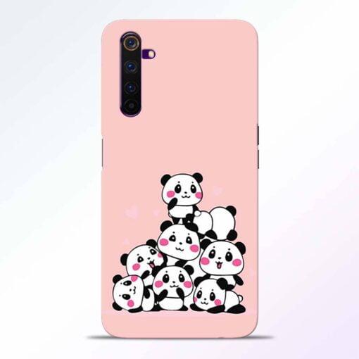 Babys Panda Realme 6 Pro Back Cover