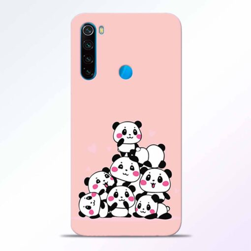 Babys Panda Redmi Note 8 Back Cover