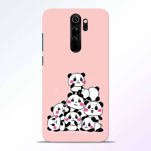 Babys Panda Redmi Note 8 Pro Back Cover