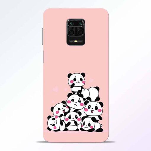 Babys Panda Redmi Note 9 Pro Back Cover