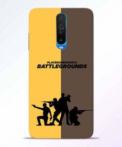 Battel Ground Poco X2 Back Cover