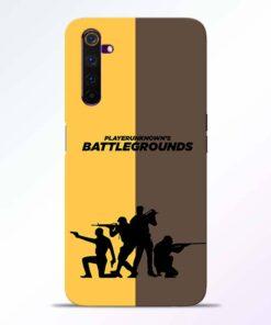 Battel Ground Realme 6 Back Cover