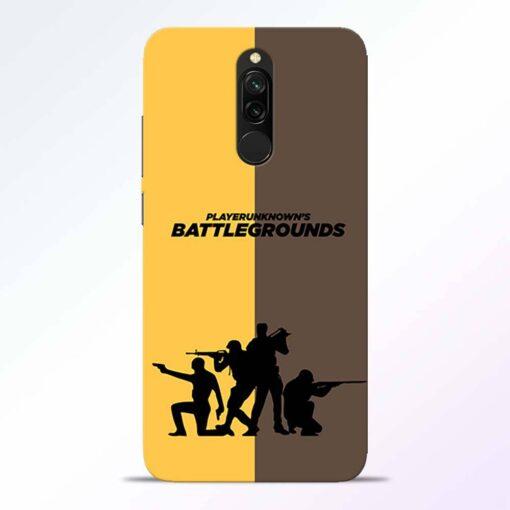 Battel Ground Redmi 8 Back Cover