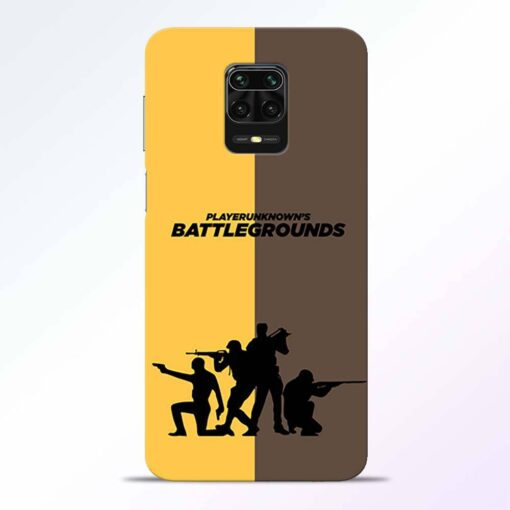 Battel Ground Redmi Note 9 Pro Back Cover