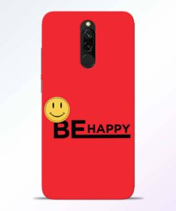 Be Happy Redmi 8 Back Cover