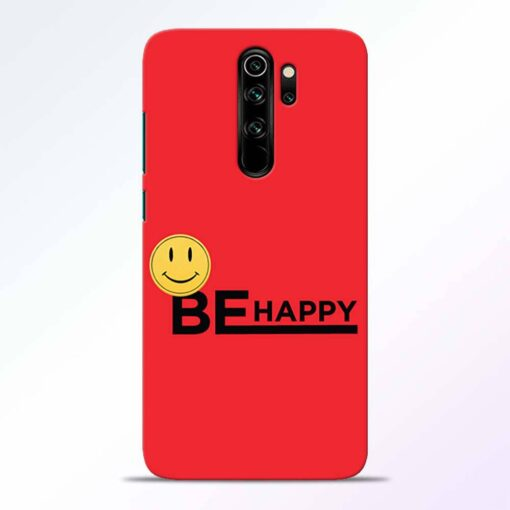 Be Happy Redmi Note 8 Pro Back Cover