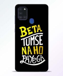 Beta Tumse Na Samsung Galaxy A21s Mobile Cover - CoversGap