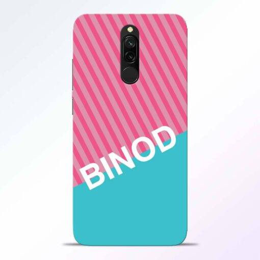Binod Redmi 8 Back Cover