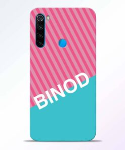 Binod Redmi Note 8 Back Cover