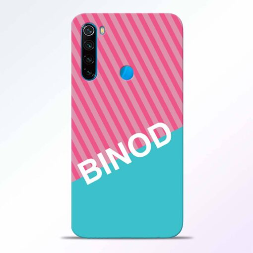 Binod Redmi Note 8 Back Cover