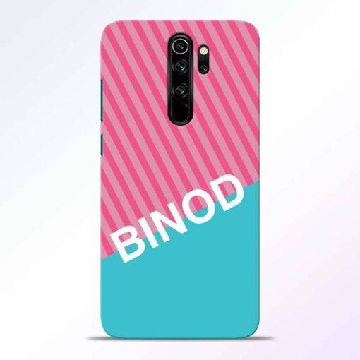 Binod Redmi Note 8 Pro Back Cover