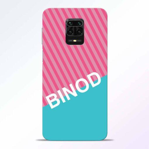 Binod Redmi Note 9 Pro Back Cover