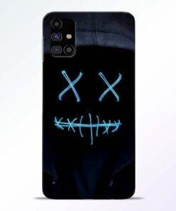 Black Marshmello Samsung Galaxy M31s Mobile Cover - CoversGap