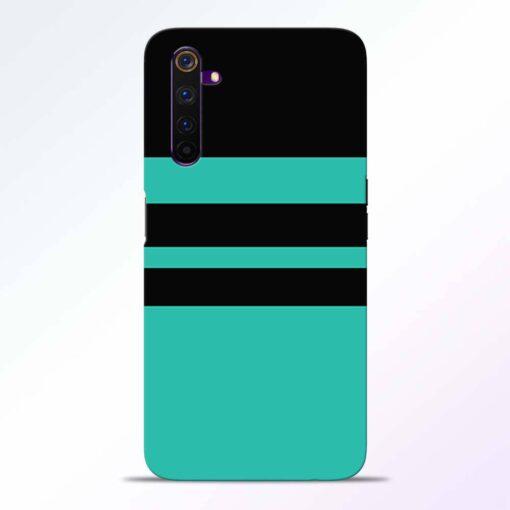 Black Strap Realme 6 Pro Back Cover