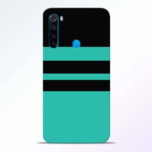 Black Strap Redmi Note 8 Back Cover