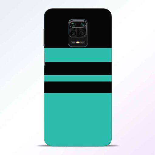 Black Strap Redmi Note 9 Pro Back Cover