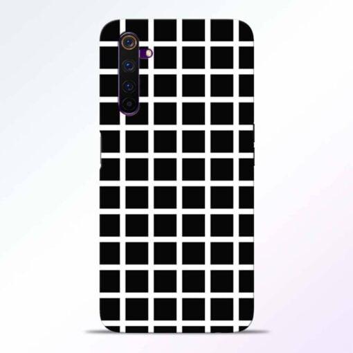 Black Tiles Realme 6 Pro Back Cover