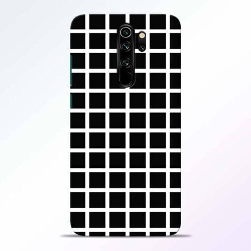 Black Tiles Redmi Note 8 Pro Back Cover