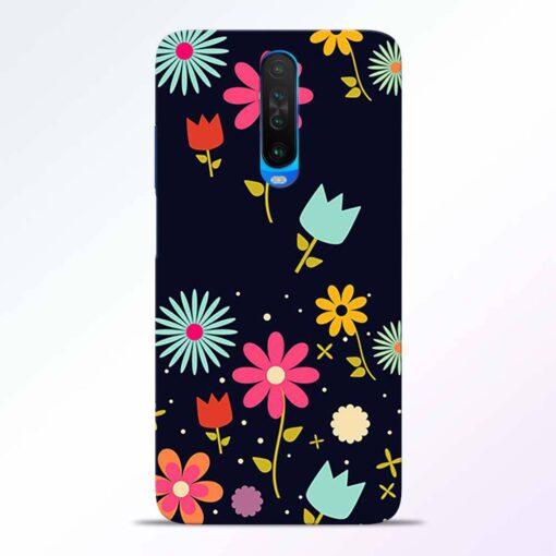 Blossom Flower Poco X2 Back Cover