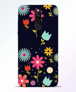 Blossom Flower Redmi 8 Back Cover