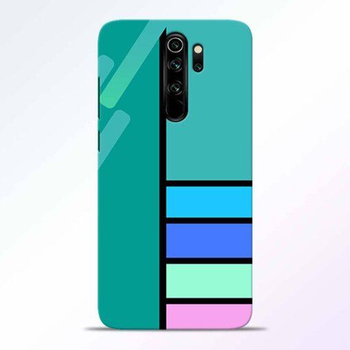 Blue Strips Redmi Note 8 Pro Back Cover
