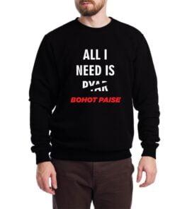 Bohot Paise Sweatshirt for Men
