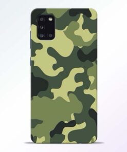 Camouflage Samsung Galaxy A31 Mobile Cover - CoversGap