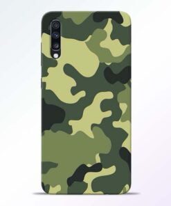 Camouflage Samsung Galaxy A70 Mobile Cover - CoversGap