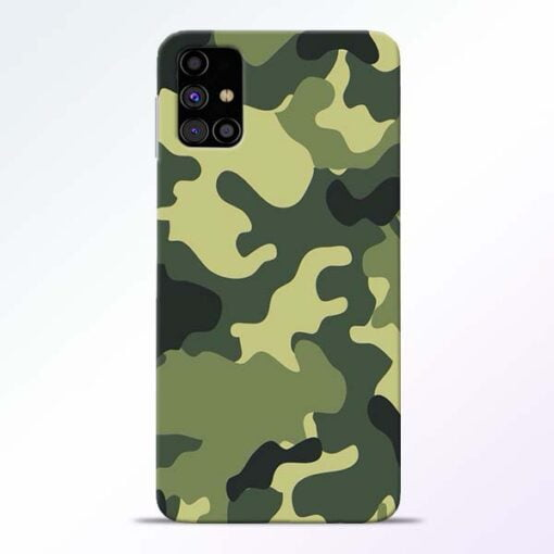 Camouflage Samsung Galaxy M31s Mobile Cover - CoversGap