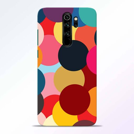Circle Art Redmi Note 8 Pro Back Cover