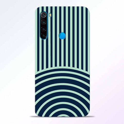 Circle Stripes Redmi Note 8 Back Cover