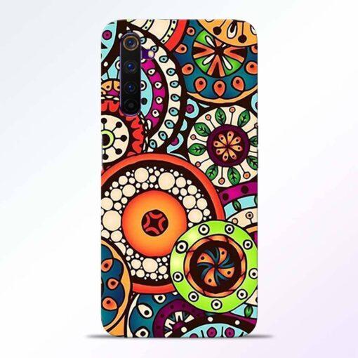 Circular Flora Realme 6 Pro Back Cover