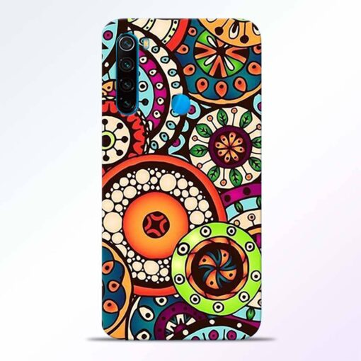 Circular Flora Redmi Note 8 Back Cover