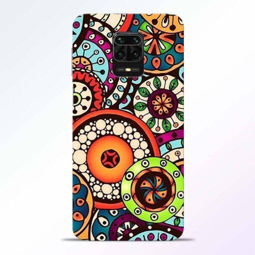Circular Flora Redmi Note 9 Pro Back Cover