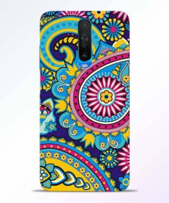 Colorful Mandala Poco X2 Back Cover