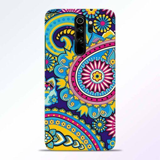 Colorful Mandala Redmi Note 8 Pro Back Cover