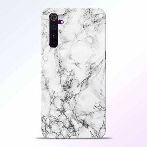 Crack Marble Realme 6 Pro Back Cover