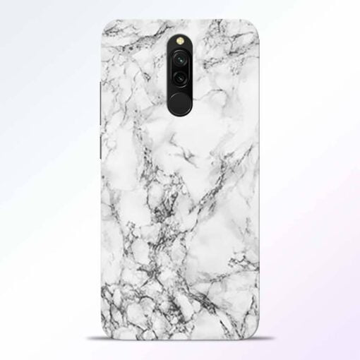 Crack Marble Redmi 8 Back Cover