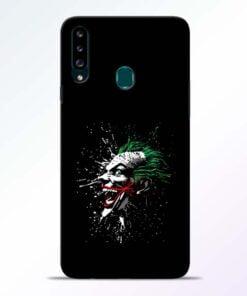 Crazy Joker Samsung Galaxy A20s Mobile Cover - CoversGap