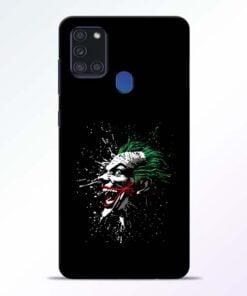Crazy Joker Samsung Galaxy A21s Mobile Cover - CoversGap