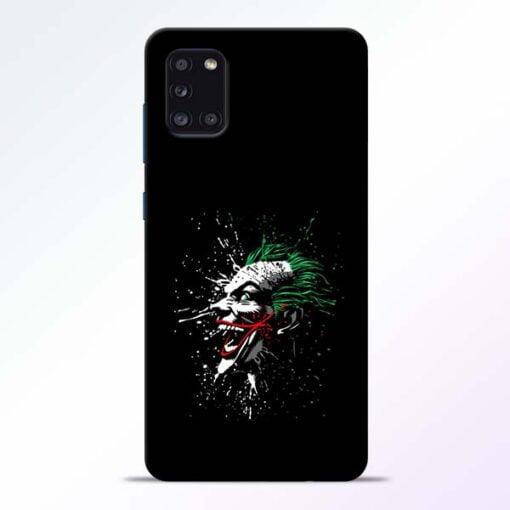 Crazy Joker Samsung Galaxy A31 Mobile Cover - CoversGap